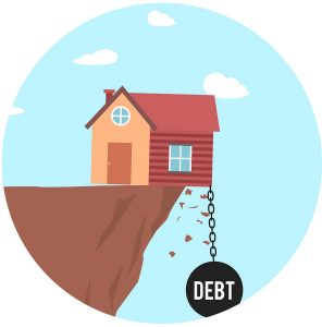 Whose interest gets priority debt house